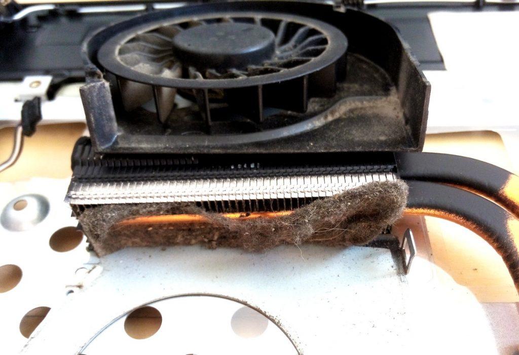 czyszczenie laptopów w serwisie