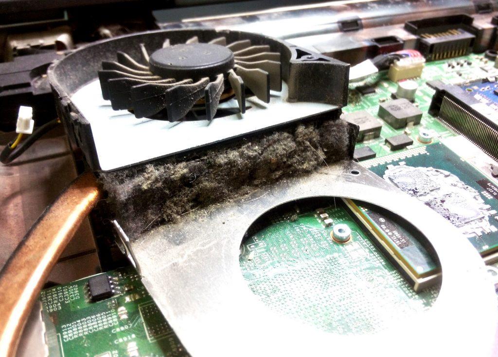 dell czyszczenie laptopa w serwisie